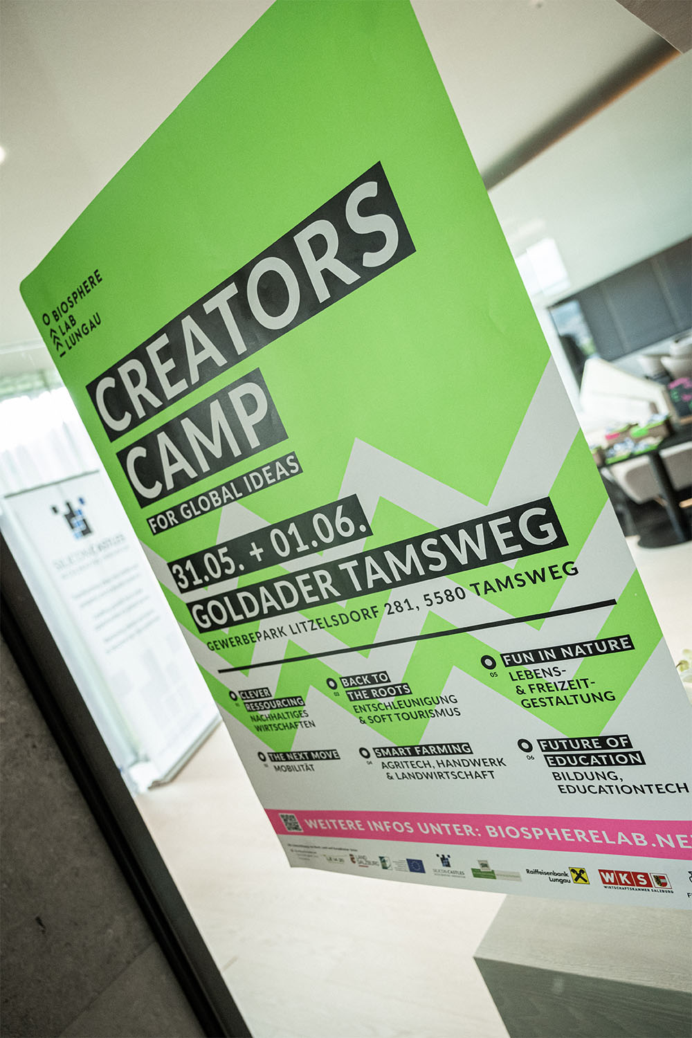 Creators Camp for Global Ideas - Biosphere Lab Lungau